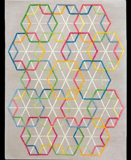 Contemporary Carpet - Hexagon