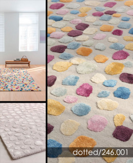 Contemporary Carpet - Dotted