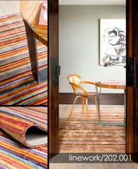 Contemporary Carpet - Linework